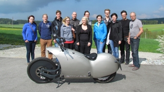 IFI Student excursion at Johammer e-mobility